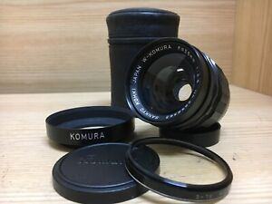 Mint Sankyo Kohki W-Komura 35mm f/2.5 Wide Angle Lens for Minolta From Japan