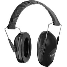 Folding Over Ear Muff Safety Hearing Noise Protection Gun Shooting Black