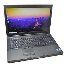 "Dell Precision 17"" M6800 CAD Laptop: 240GB+HDD, Quadro K3100M, i5, VAT, Warranty"