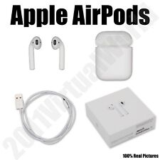 Apple AirPods White Bluetooth Genuine AirPod Retail Box MMEF2AM/A Priority Mail