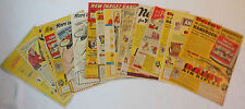 Collection of 19 DAISY AIR RIFLE ads ~ 1940s ~ RED RYDER