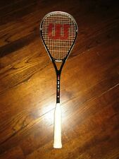 WILSON STING 150 GRAPHITE/COMPOSITE LARGEHEAD PWS SQUASH RACQUET-ONLY 1 ON EBAY