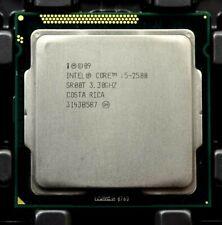 Lot (2) Intel i5-2500 2nd Gen. (SR00T) Quad-Core, 3.3GHz, 6MB, LGA1155 CPUs