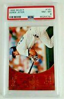 1996 Select Rookie Derek Jeter Baseball Card Graded PSA 8 NM-MT Yankees