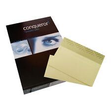 Conqueror CX22 Creme A4 Briefpapier und DL Briefumschläge im Brief Set CX 22