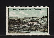 403734/ Reklamemarke - Königl. Mineralbrunnen zu Fachingen