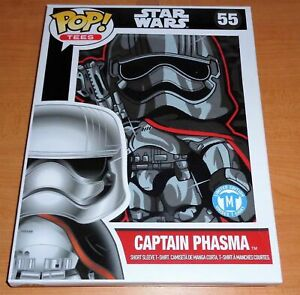 FUNKO POP! TEES, CAPTIAN PHASMA, STAR WARS, LIMITED EDITION #55, UNISEX SHIRT