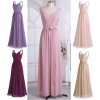 Women Maxi Formal Dress Wedding Evening Ball Gown Party Cocktail Prom Bridesmaid