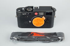Leica M7 0.72 35mm Rangefinder Film Camera Body Only, Black