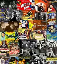 40 Classic Film Noir Movies on One 16gb USB Flash Drive Over 50 HRS - # LOOK #