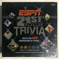 ESPN 21st Century Tivia Shout it, Draw it, Act it, Brand New Sealed