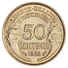 France : 50 centimes  1932 Morlon  / Sup+- (Franco de port)