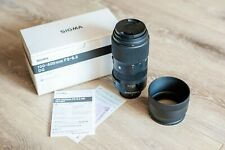 Sigma 100-400mm f/5-6.3 DG Contemporary Nikon