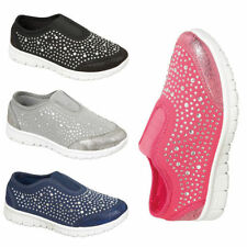Casual Trainers Slip - on Canvas Upper Shoes for Girls