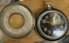 WW2 Waltham Military Pocket Watch 16s With Half Hunter Protective Case