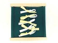 NEW Montessori Practical Life Material - Beechwood Bow Dressing Frame