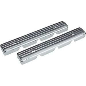 Speedway Finned Aluminum Buick Nailhead Spark Plug Covers
