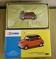Corgi AN02528 50th Anniversary 1961 Austin Seven Cooper Red Ltd Ed. 0003/2006