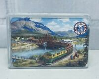 White Pass & Yukon Route Train Locomotive Playing Cards With Plastic Clear Case