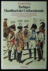 Внешний вид - Napoleonic Wars Farbiges Handbuch Der Uniformkunde GERMAN TEXT Reference Book