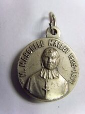 antique catholic sisters of charity Marcelle mallet faith relic pendant 49942