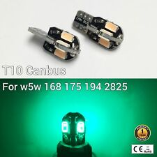 T10 W5W 194 168 2825 175 12961 Reverse Backup Light Green Canbus LED M1 MA