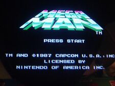 Nintendo Playchoice 10 Mega Man Cart Pc-10