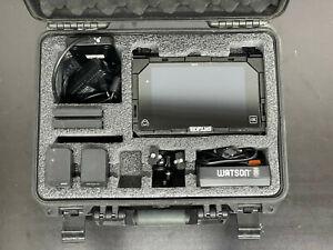 "Atomos Shogun 4K 7"" Monitor + extra Accessories Charger, 2 Batteries + 250GB SSD"