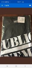 Puma Black Public Enemy - Short Sleeve T Shirt  size Large