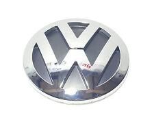 VW CHROME REAR BOOT BADGE EMBLEM LOGO GOLF MK5 SIZE 100mm