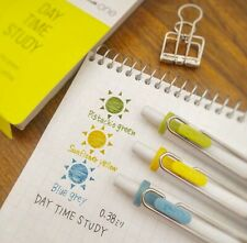 Uni-ball One Gel Ink Ballpoint Pen Limited 3 Colors set 0.38 mm Day Time Study