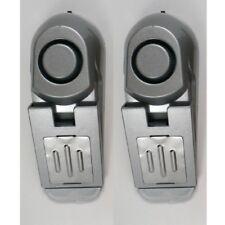 2x Türstopper mit Alarm Tür-Stopper Türalarm Alarmanlage für Türen Türkeil 2in1