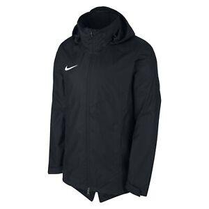 NIKE Park 18 Hooded Rain Jacket - Men's Medium M  893796-010 Referee Football