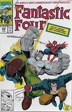 Fantastic Four No.348 1991 Spider-Man Wolverine Ghost Rider Hulk / Arthur Adams