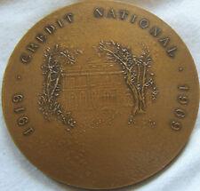 MED6034 - MEDAILLE CREDIT NATIONAL 1969 par DEMARCHI