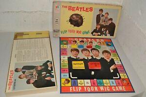 *c.1964 THE BEATLES *FLIP YOUR WIG* BOARD GAME – PAUL McCARTNEY – JOHN LENNON*