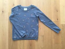 Armedangels Pullover Sweatshirt Gr.M 38 grau bunt Diamanten Kristalle NEU