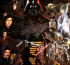Star Wars Galaxy 5 etched foil set 1-6