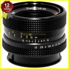 Obiettivo Rollei HFT Planar 50mm f/1,8 per fotocamere Rolleiflex 35mm. Zeiss