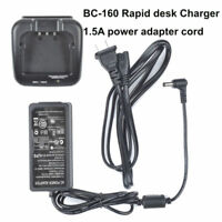 Rapid Charger for ICOM IC-F4162DS IC-F3163T IC-F4163T Portable