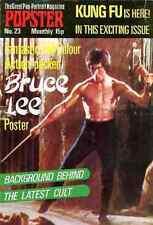 BRUCE LEE Karate kung-fu Movie star Martial art Popster 23 UK poster magazine