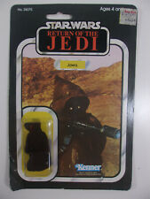 Vintage Kenner Star Wars ROTJ Return of the Jedi Jawa Action Figure MOC 65 Back