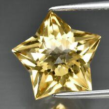 3.80ct 11.5x11mm IF Star Natural Yellow Citrine, Brazil