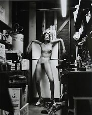 Helmut Newton Sumo Photo 50x70 Domestic Nude II + V 1992 Earthquake Living Room