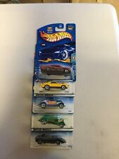 1990s -2000 Hot Wheels - Assorted Lot of 5 Cool Cars - See Description HW-22