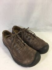 75a5c533a49 Womens KEEN Lace-Up Hiking Shoes Size 9.5M Brown Nubuck/Suede Leather  Oxfords