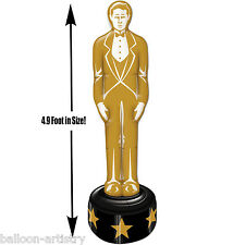 Hollywood 'At The Movies' Jumbo Inflatable Oscars Award Statue Party Blow Up