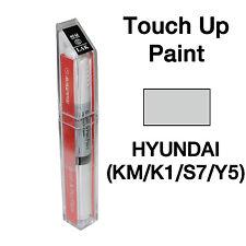 Hyundai OEM Brush&Pen Touch Up Paint Color Code : KM / K1 / S7 - Sleek Silver