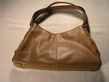 Tommy Hilfiger Hobo Purse Bag  Handbag Shoulder Brown Tote
