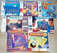 Vintage 1976 1984 1993 1996 2004 MB Connect 4 Flip Spongebob OR Spare Parts